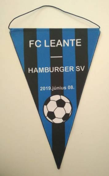Egyedi háromszög zászló - Fc Leante