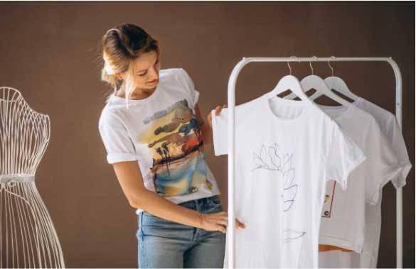 Hogyan ellenőrizzük póló nyomtatásnál, a grafikát és a színeket?