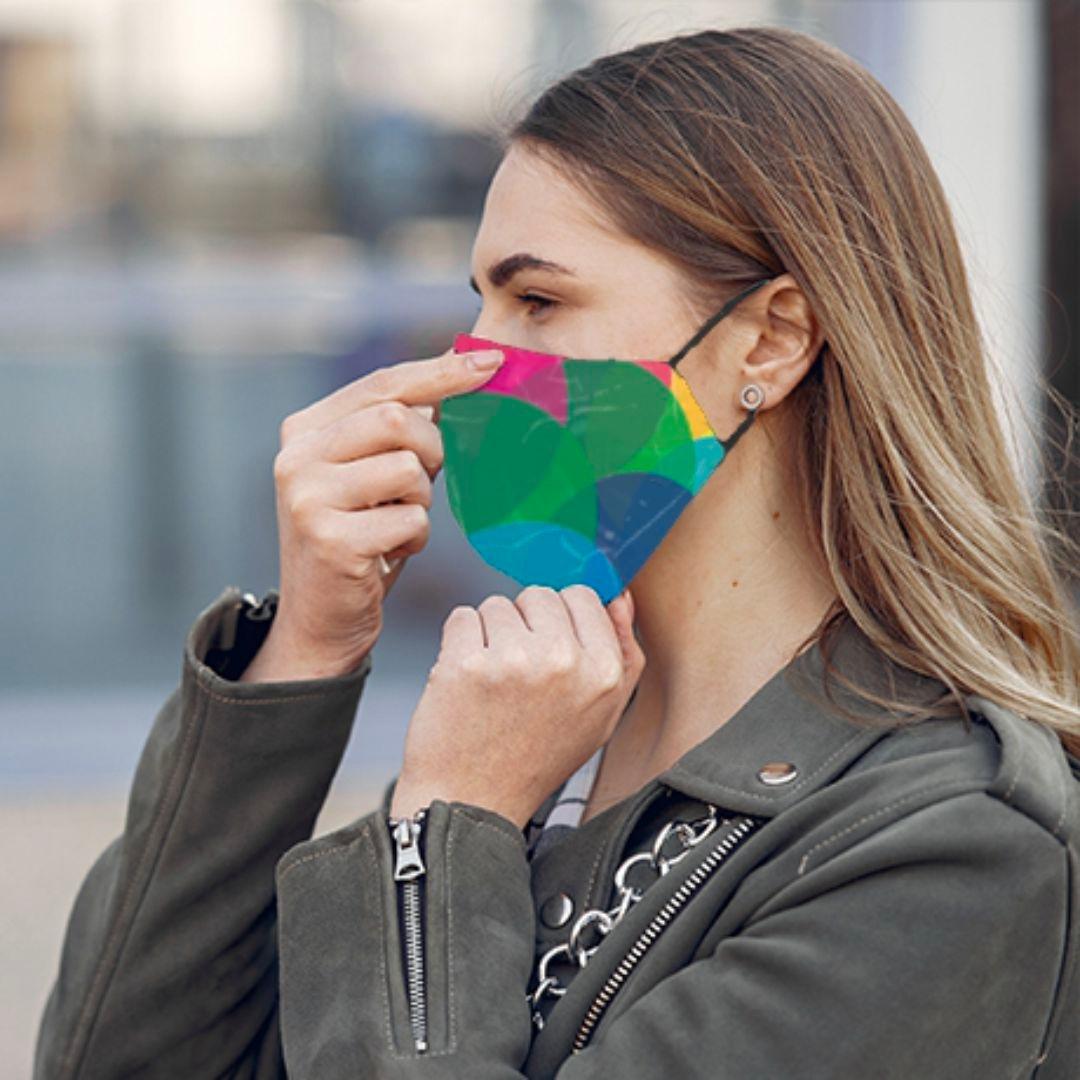 Antibakteriális Fashion Arcmaszk