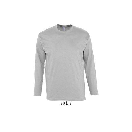 c8b3161e7a Sols Monarch hosszúujjú férfi póló, Grey Melange, XL - Profi-Reklam ...