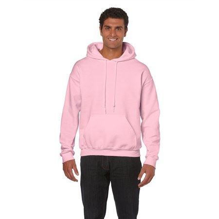 Gildan Heavy Blend kapucnis pulóver, Light Pink, S