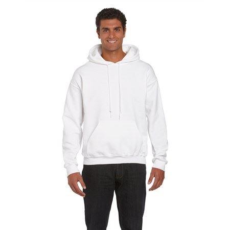ca118452f6 Gildan DryBlend kapucnis pulóver, White, M - Profi-Reklam.hu Egyedi ...