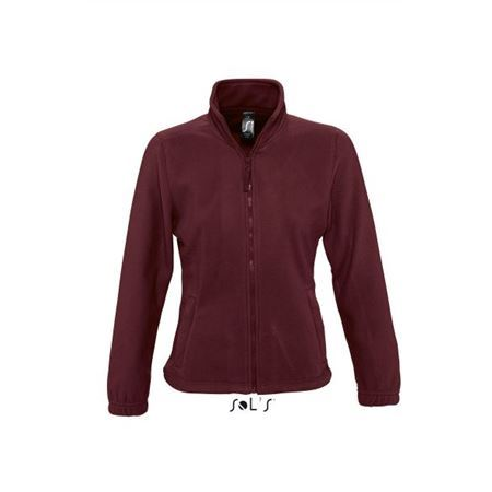 Sols North női polárpulóver, Burgundy, 2XL