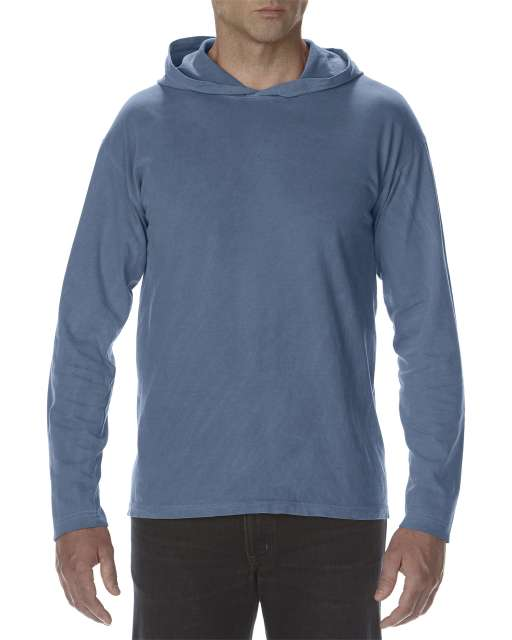 ADULT HEAVYWEIGHT LONG SLEEVE HOODED TEE