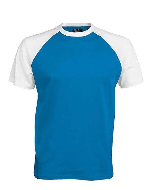 BASEBALL - SHORT-SLEEVED TWO-TONE T-SHIRT