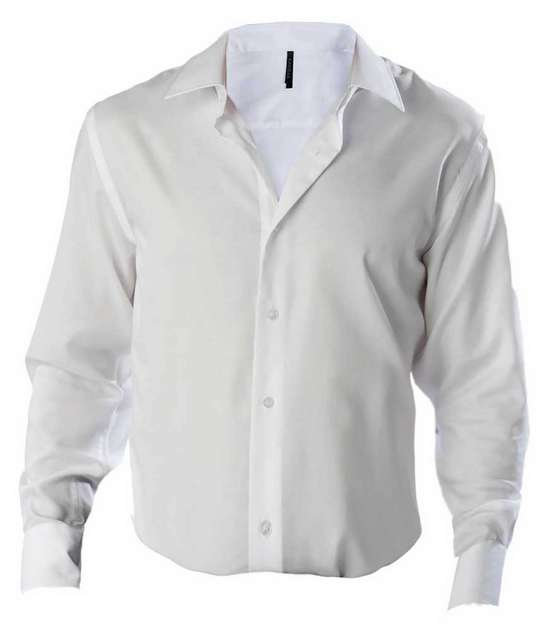 MEN'S FITTED LONG-SLEEVED NON-IRON SHIRT