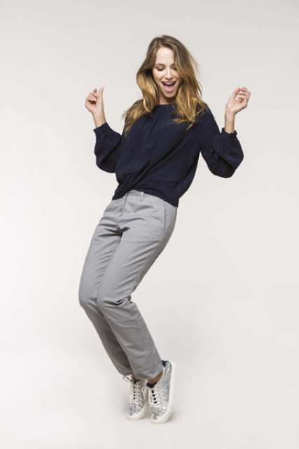 LADIES' CHINO TROUSERS