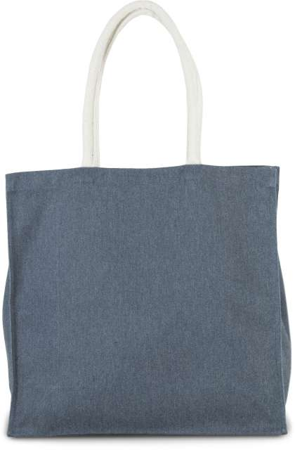 LARGE POLYCOTTON SHOPPER BAG
