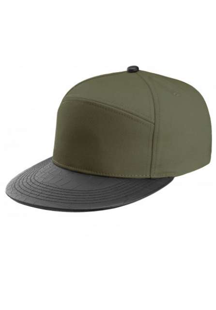 FASHION FLAT PEAK CAP -  6 PANELS