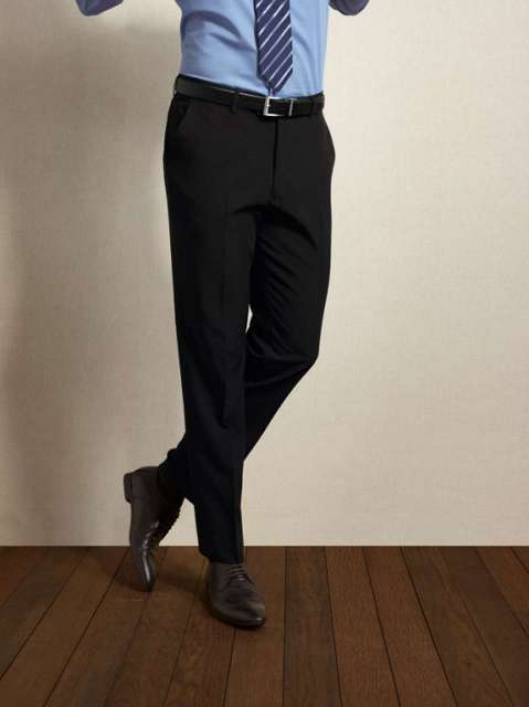 MEN'S LONG TAILORED POLYESTER TROUSERS