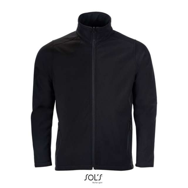 SOL'S RACE MEN - SOFTSHELL ZIP JACKET