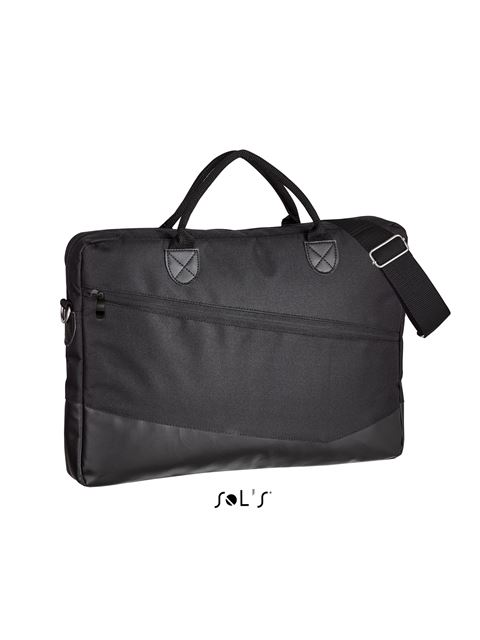 SOL'S MANHATTAN - 600D POLYESTER BRIEFCASE