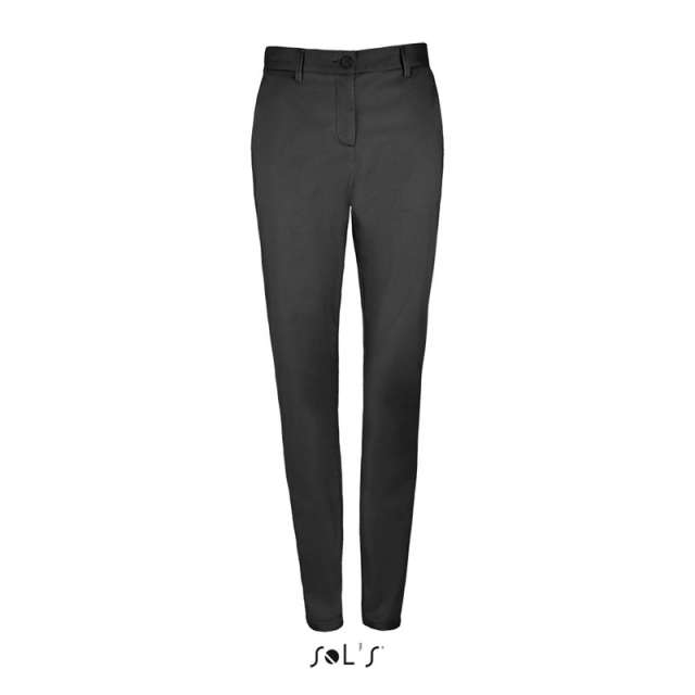 SOL'S JARED WOMEN - SATIN STRETCH TROUSERS
