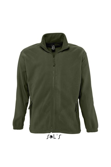 SOL'S NORTH MEN - ZIPPED FLEECE JACKET